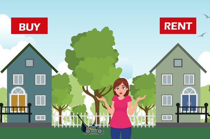 """האם יותר רווחי לקנות דירה למגורים או להשקיע את הכסף בנדל""""ן ולגור בשכירות?"""